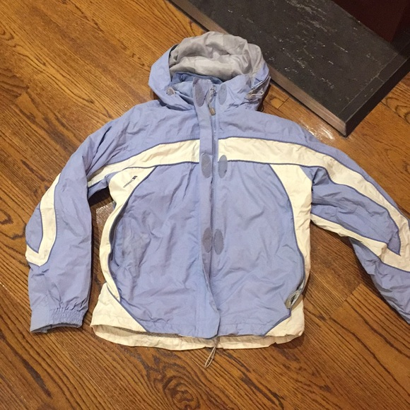 97d86ee1897 Trespass small women's light blue winter jacket